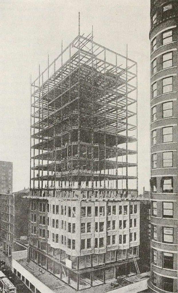 FISHER BUILDING EN CONSTRUCCIÓN