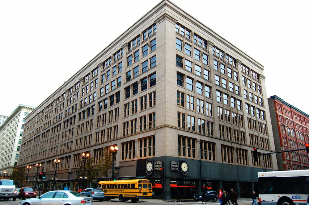 SECOND LEITER BUILDING. WILLIAM LE BARON JENNEY