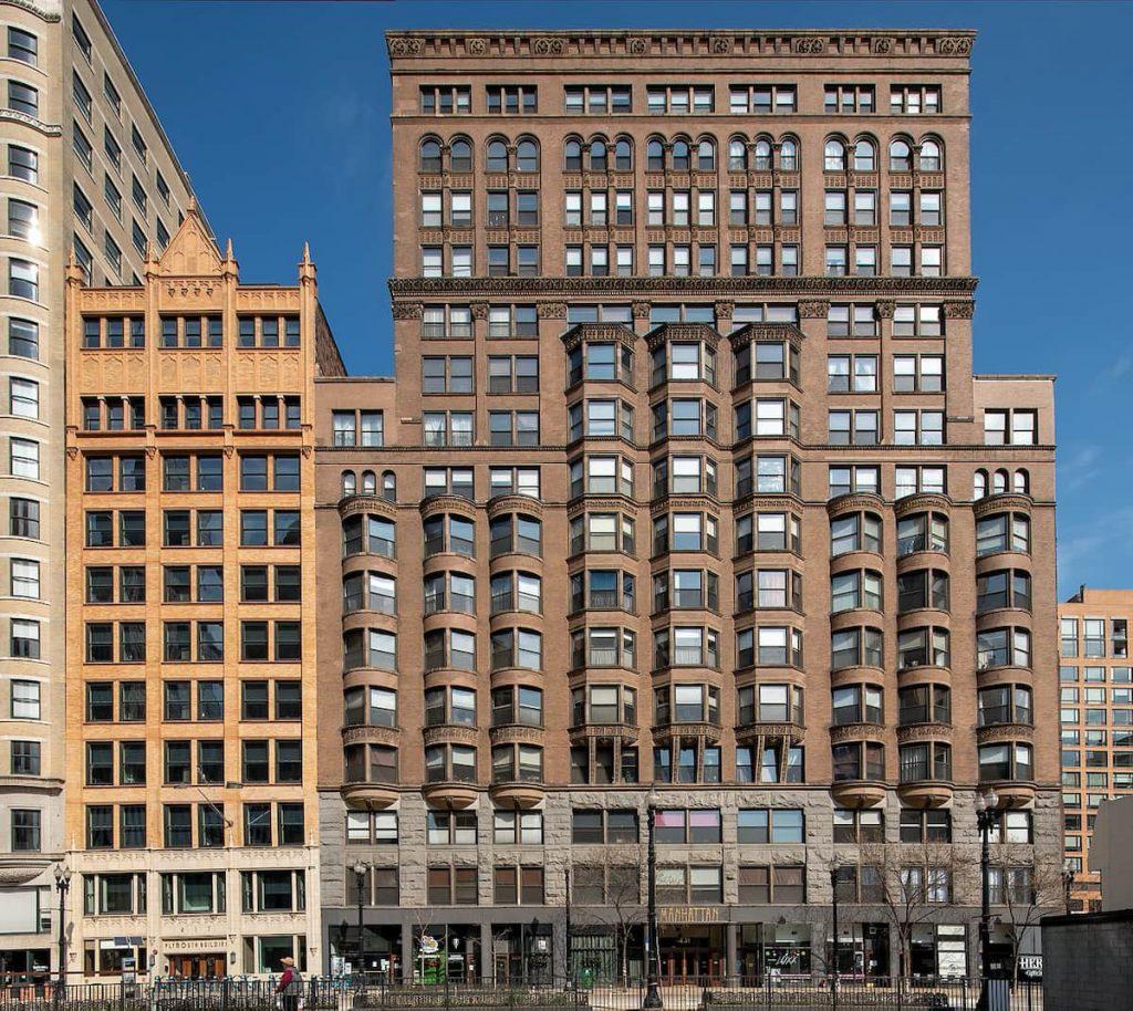 MANHATTAN BUILDING. WILLIAM LE BARON JENNEY