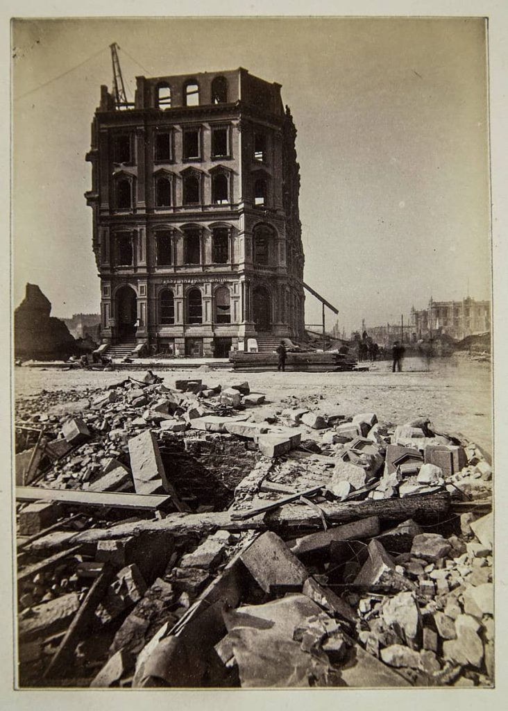 CHICAGO TRAS INCENDIO 1871