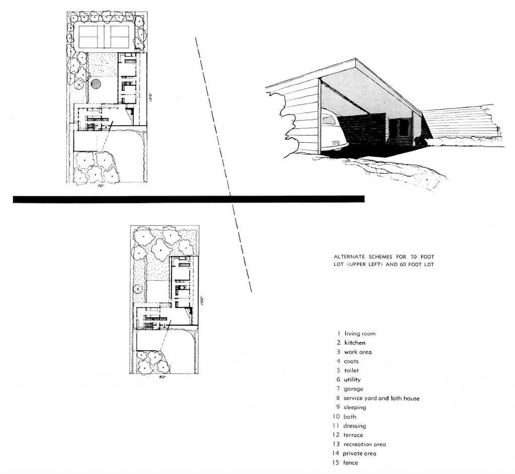 LOTES ALTERNATIVOS VERSIÓN 1 CASE STUDY HOUSE 7