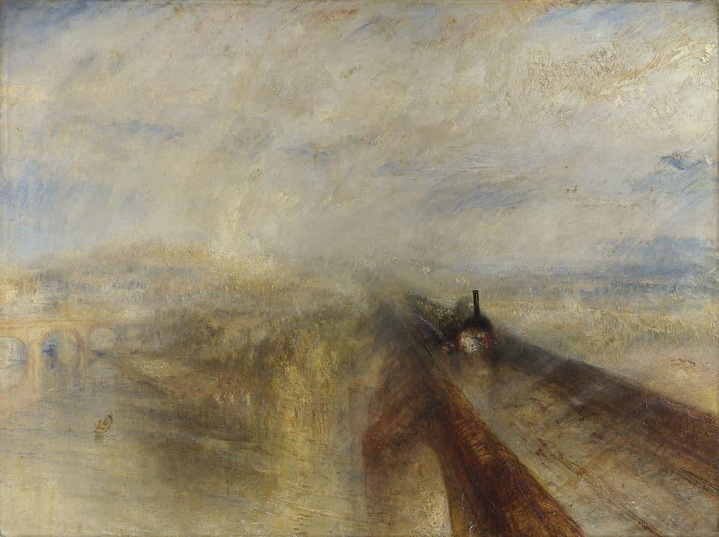 Lluvia, vapor y velocidad. Turner