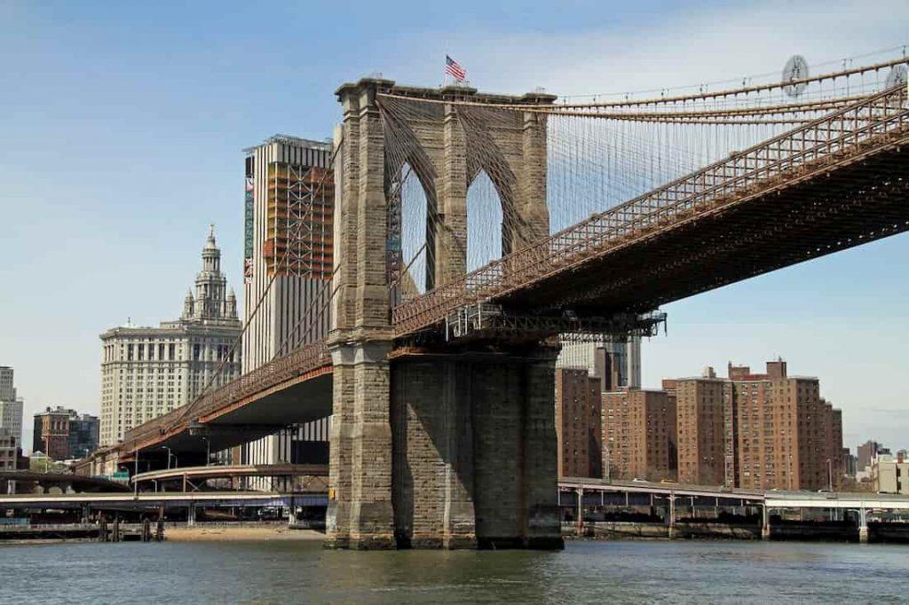 PUENTE DE BROOKLYN. NUEVA YORK. ESTADOS UNIDOS.