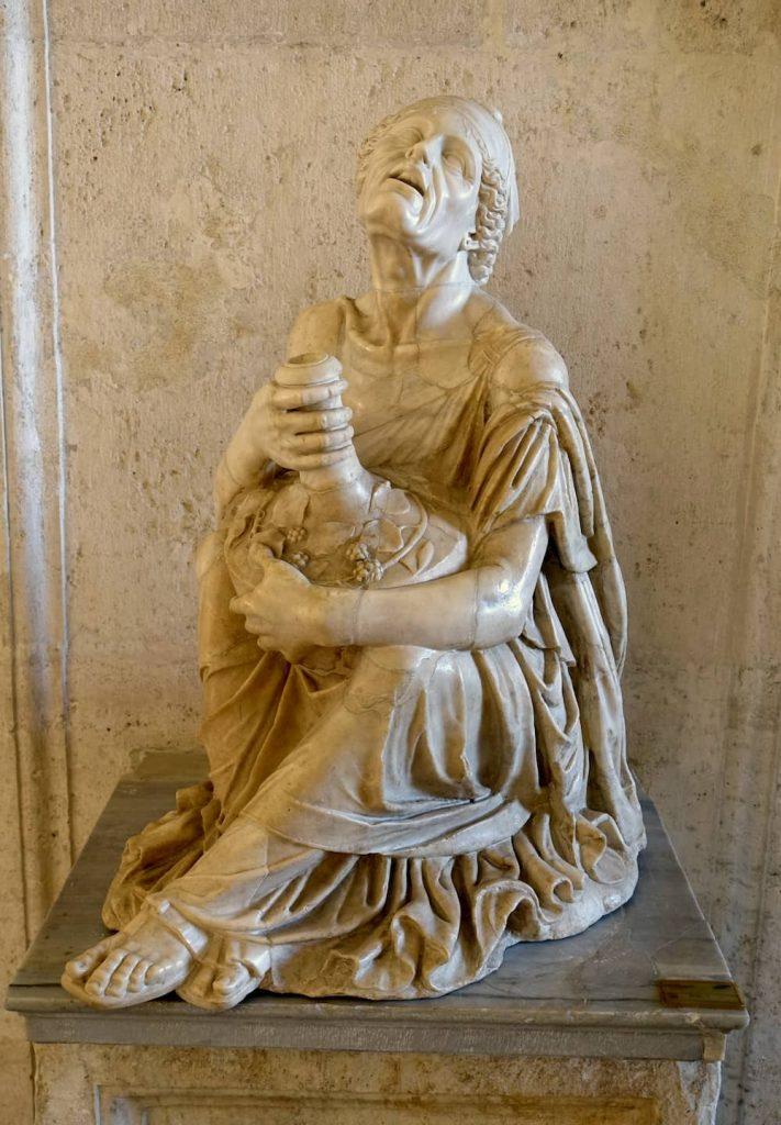 VIEJA EBRIA MUSEO CAPITOLINO